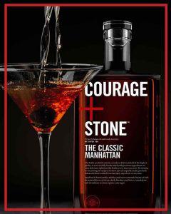 Courage + Stone™ THE CLASSIC MANHATTAN 750ML