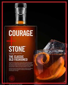 Courage + Stone™  THE CLASSIC OLD FASHIONED 750ML